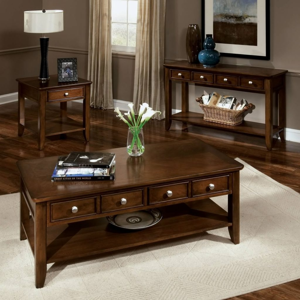 White End Tables And Coffee Table Sets Ideas Living Room Best