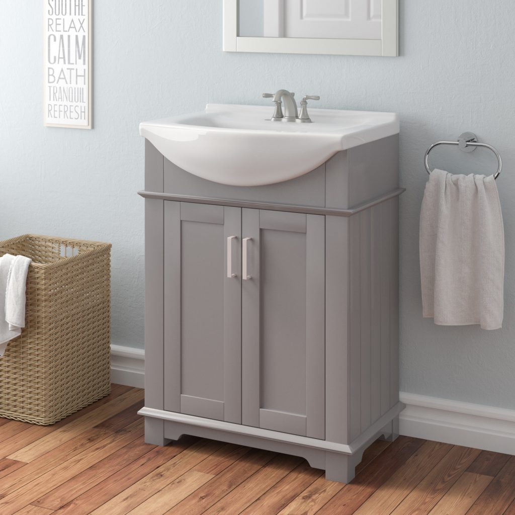 Willa Arlo Interiors Itzhak 24 Single Bathroom Vanity Set Reviews