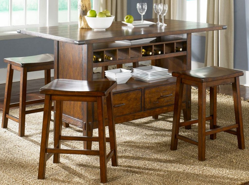 Wine Storage Bar Table Dining Room Set Kitchen Furniture Dining Room