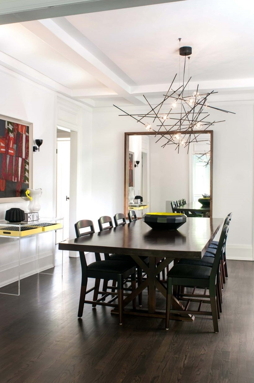 Wonderful Modern Chandeliers For Dining Room 6453 Witzkeberry