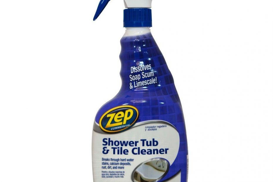 Zep 32 Oz Shower Tub And Tile Cleaner Zustt32pf The Home Depot