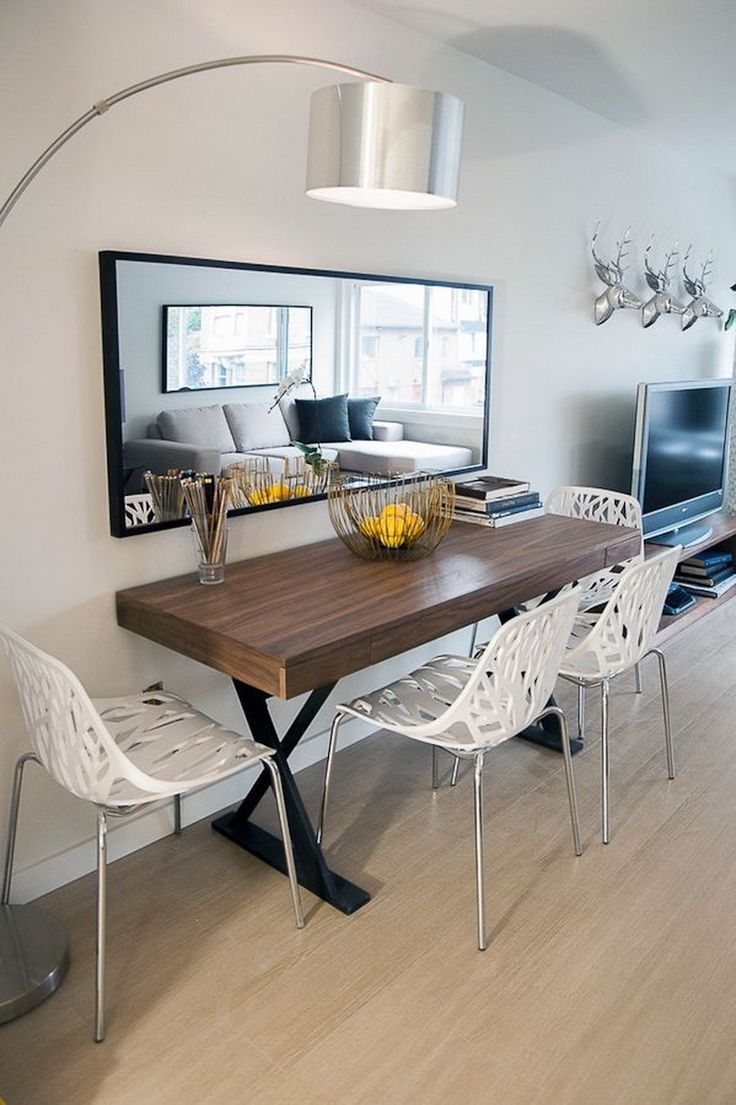 10 Narrow Dining Tables For A Small Dining Room Home Sweet Home