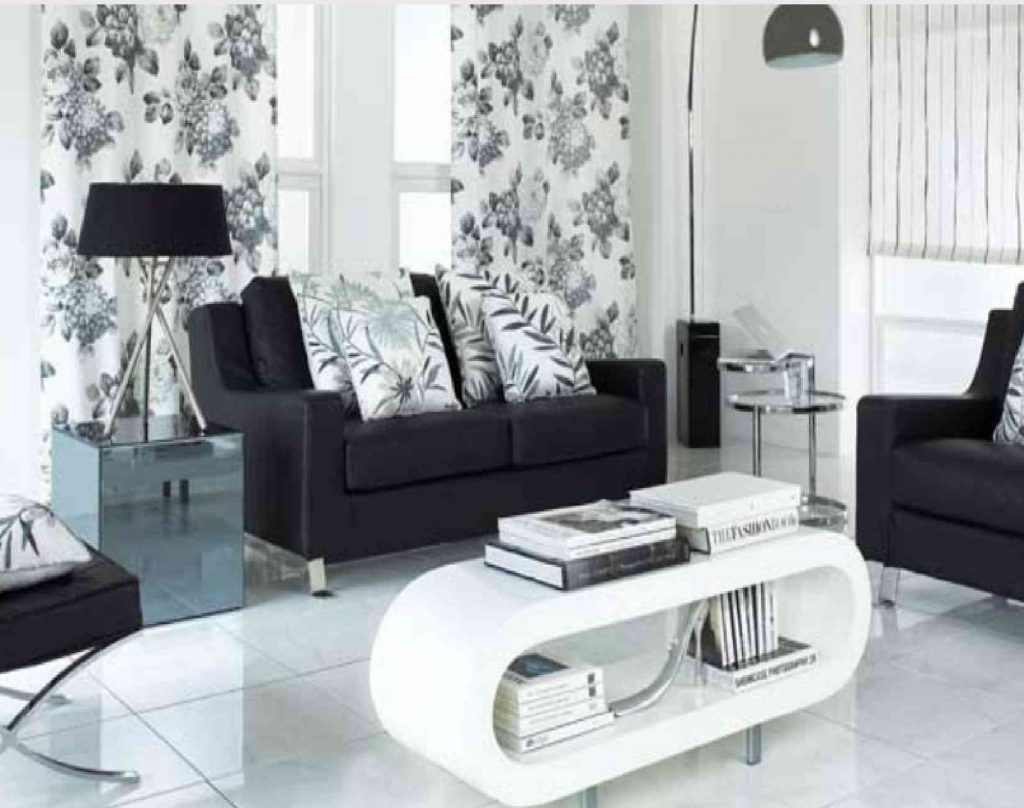 11 Affordable Black And White Living Room Ideas On A Budget Home