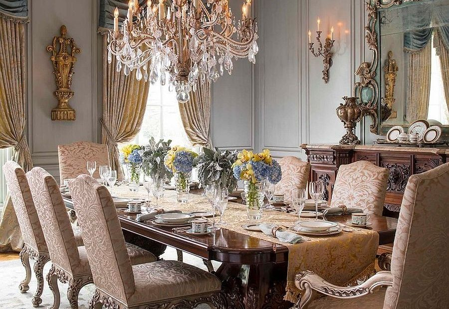 15 Majestic Victorian Dining Rooms That Radiate Color And Opulence