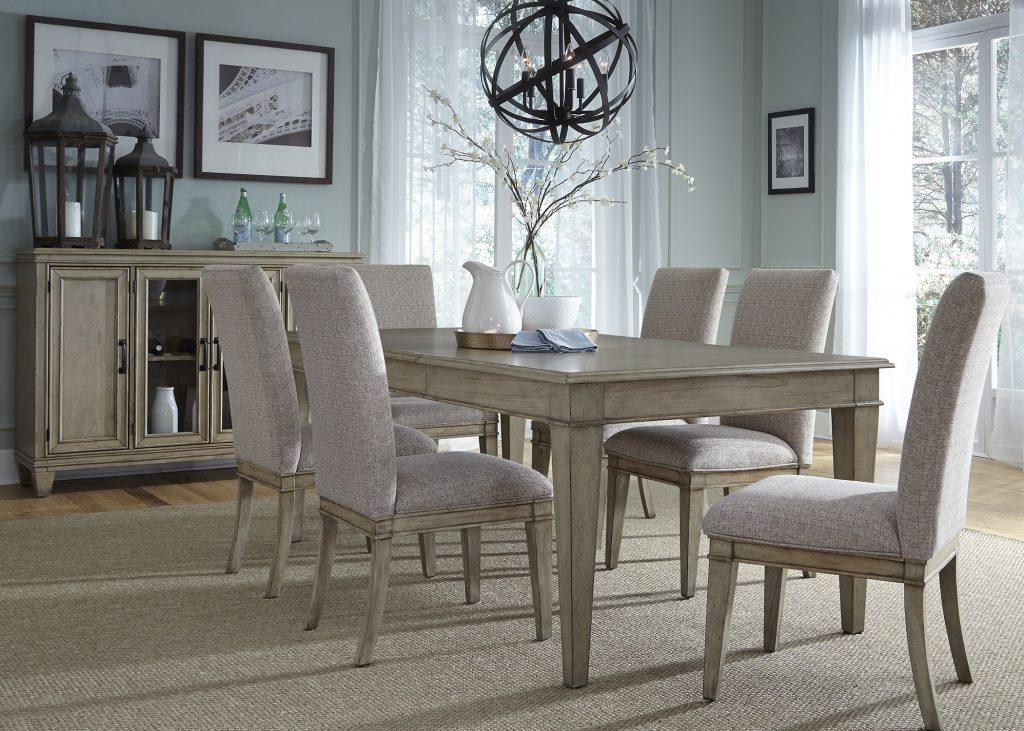 18 Grayton Grove Extendable Dining Room Set From Liberty Coleman