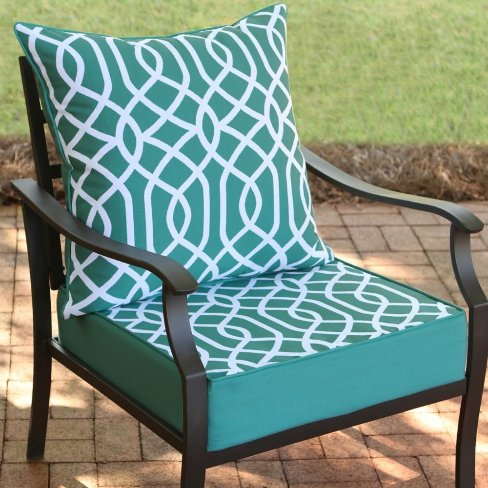 24 X 24 Patio Chair Cushions Outdoor Furniture Cushions Stackable