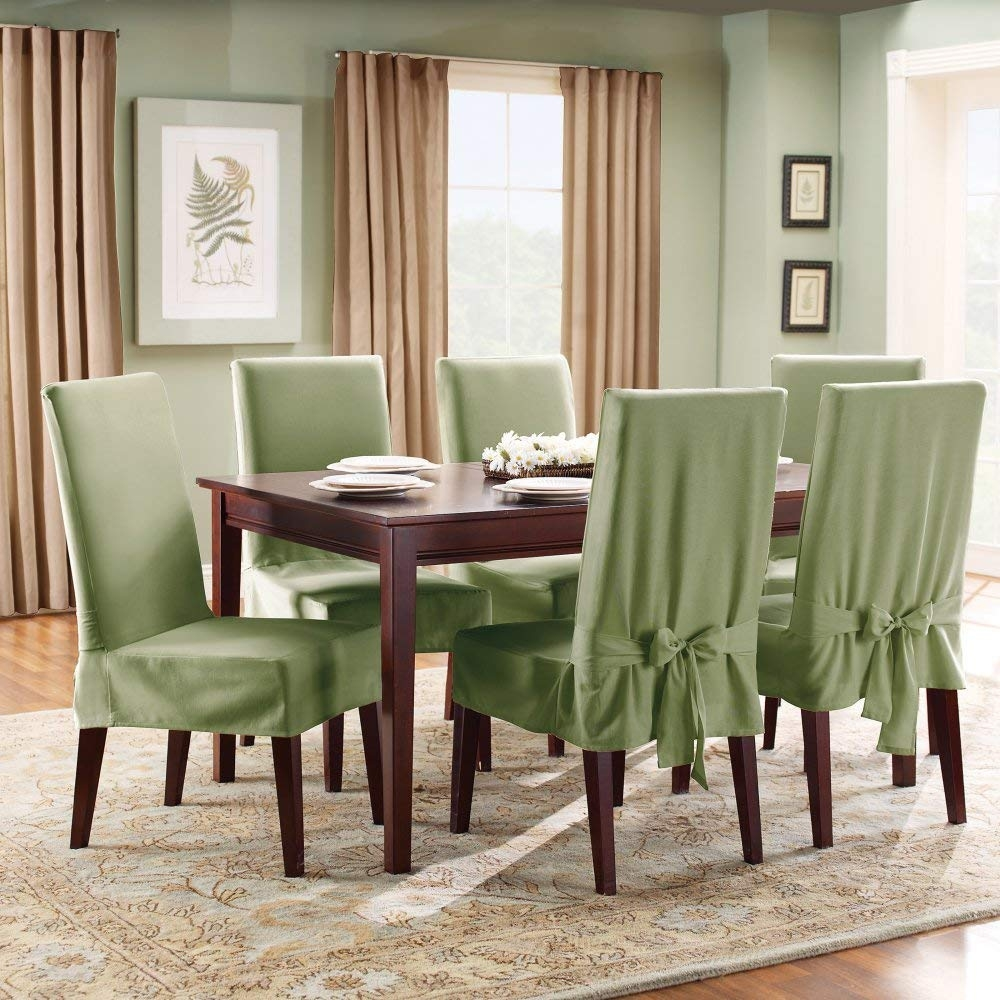 28 Top Dining Room Chair Covers Short Cvivre