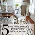 Dining Room Table Rug