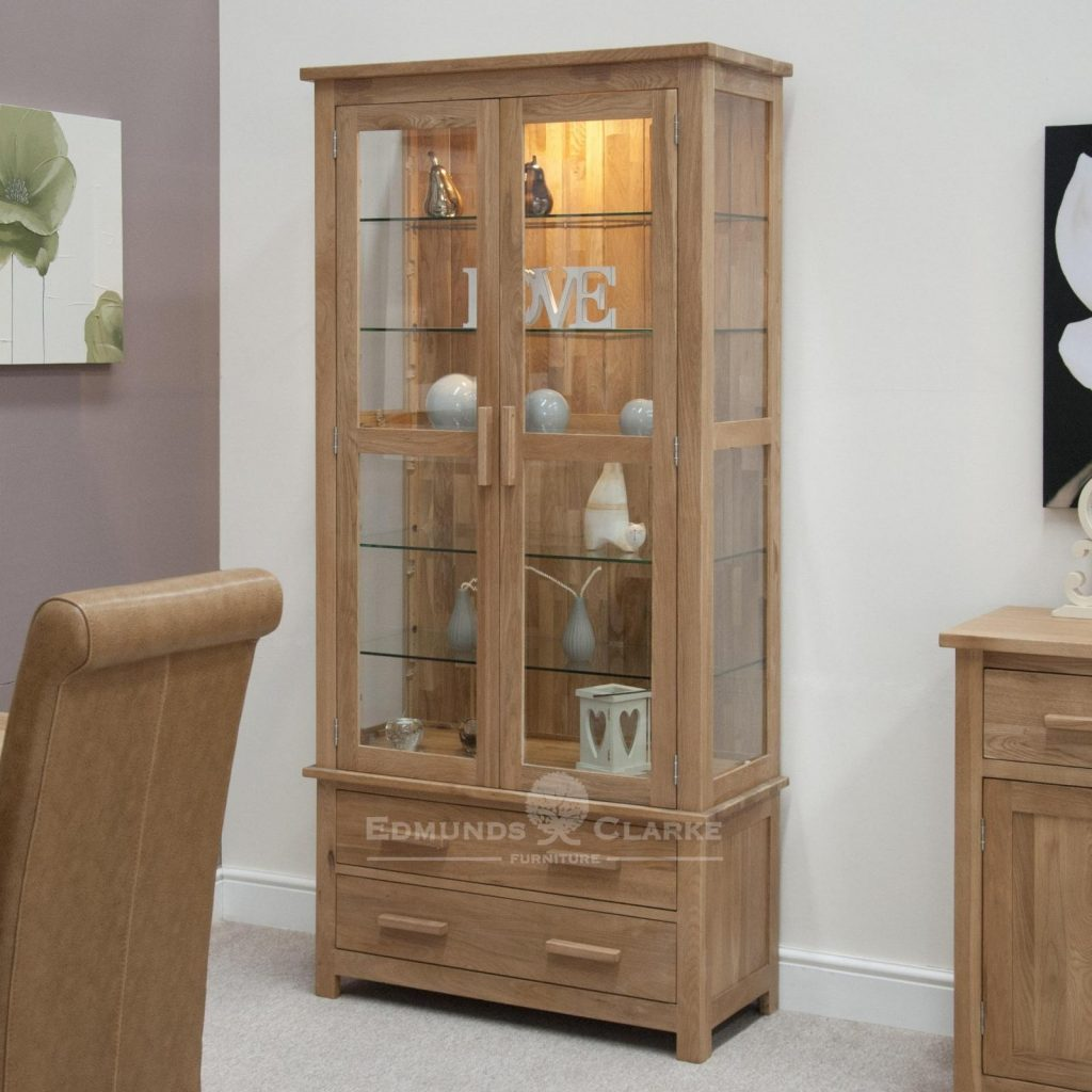 6 Dinning Room Display Cabinet With Glass Doors Glass Sideboard