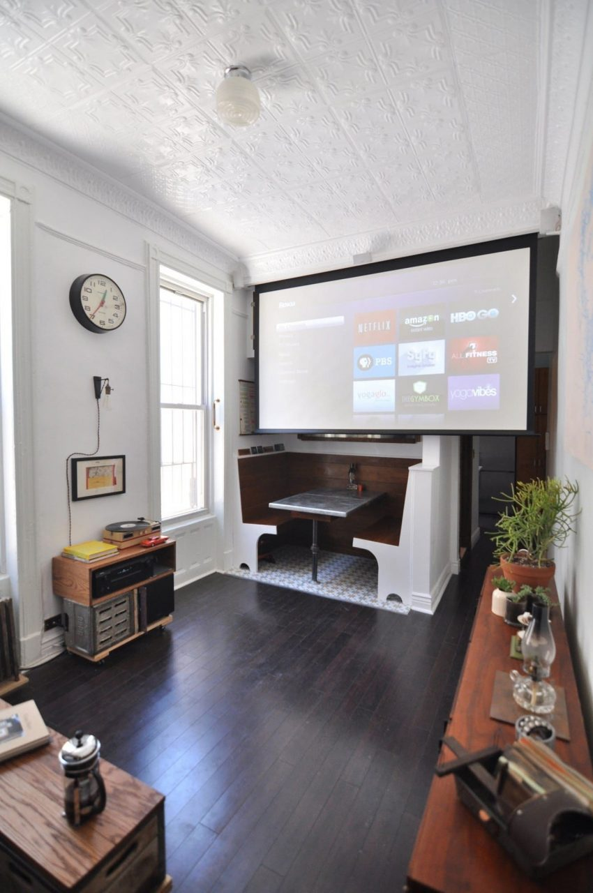 6 Reasons To Get A Projector Instead Of A Tv House Living Room