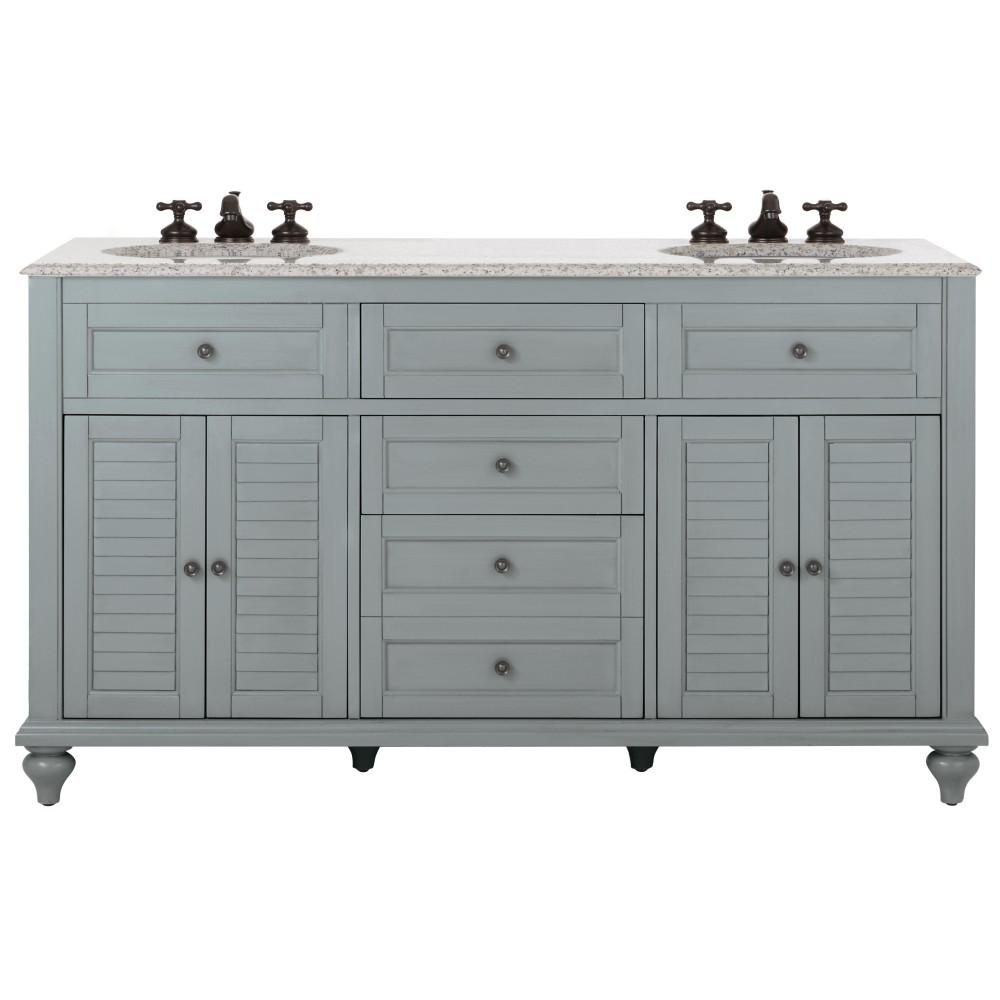 60 Inch Vanities Bathroom Vanities Bath The Home Depot