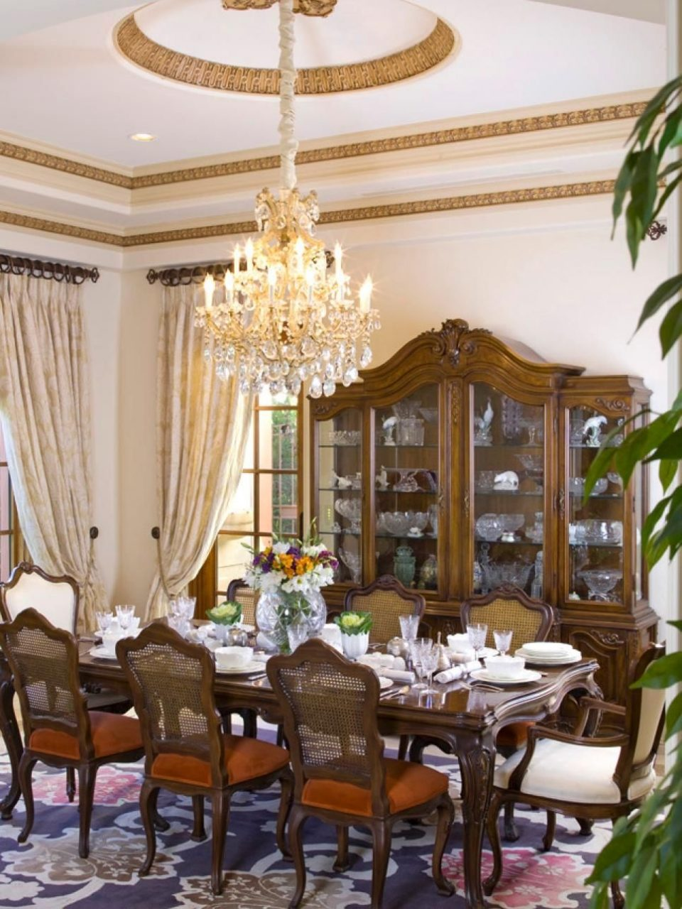 8 Elegant Victorian Style Dining Room Designs When I Was Young We