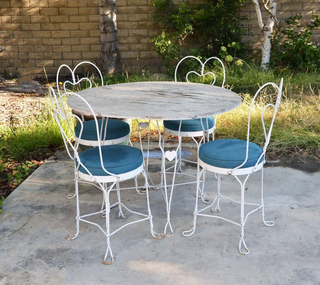 Absorbing Metal Patio Furniture Used Wrought Iron Patio Furniture