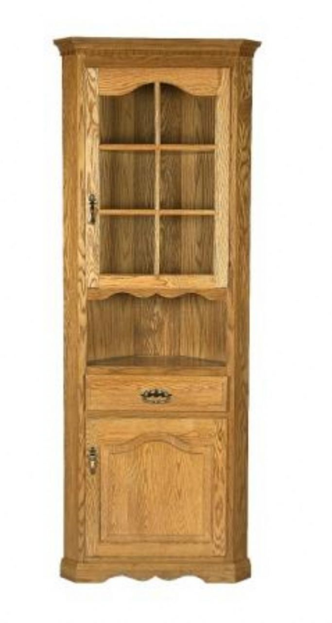 Amish One Door Small Corner Hutch In 2018 Antiques Possible Finds