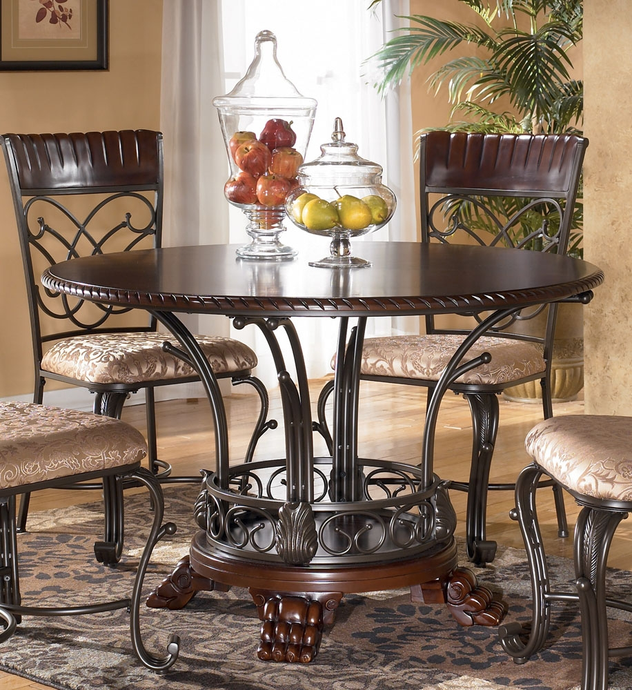 Ashley Furniture Dining Table Seattle Outdoor Art Metal End Tables