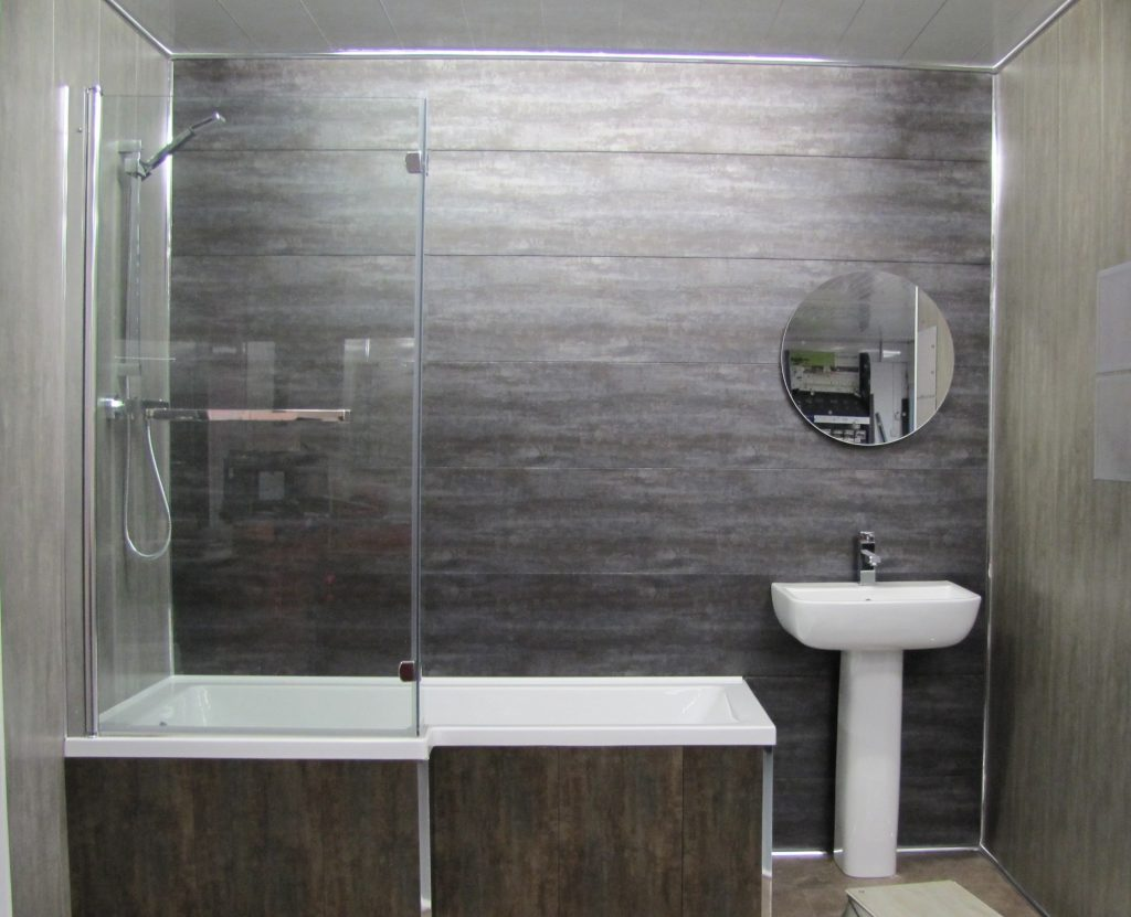 Bathroom Chromite Wall Cladding 27mtrs X 300mm X 8mm Per Panel