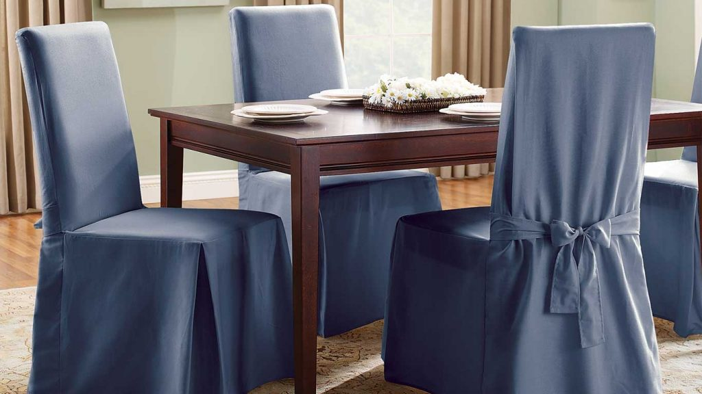Best Dining Room Chair Covers Of 2018 For Elegance And Style Of Dinners