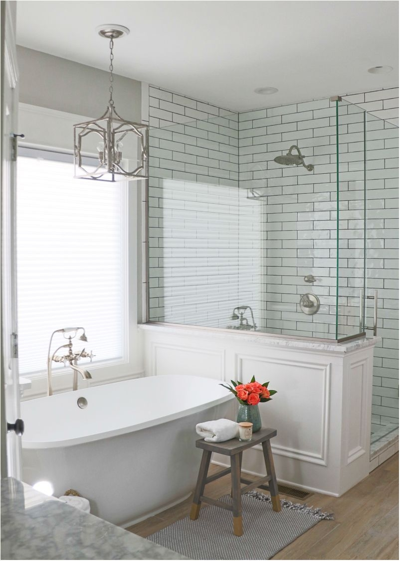 Brilliant Bathroom Remodel Reveal Bath Master Bathrooms And House
