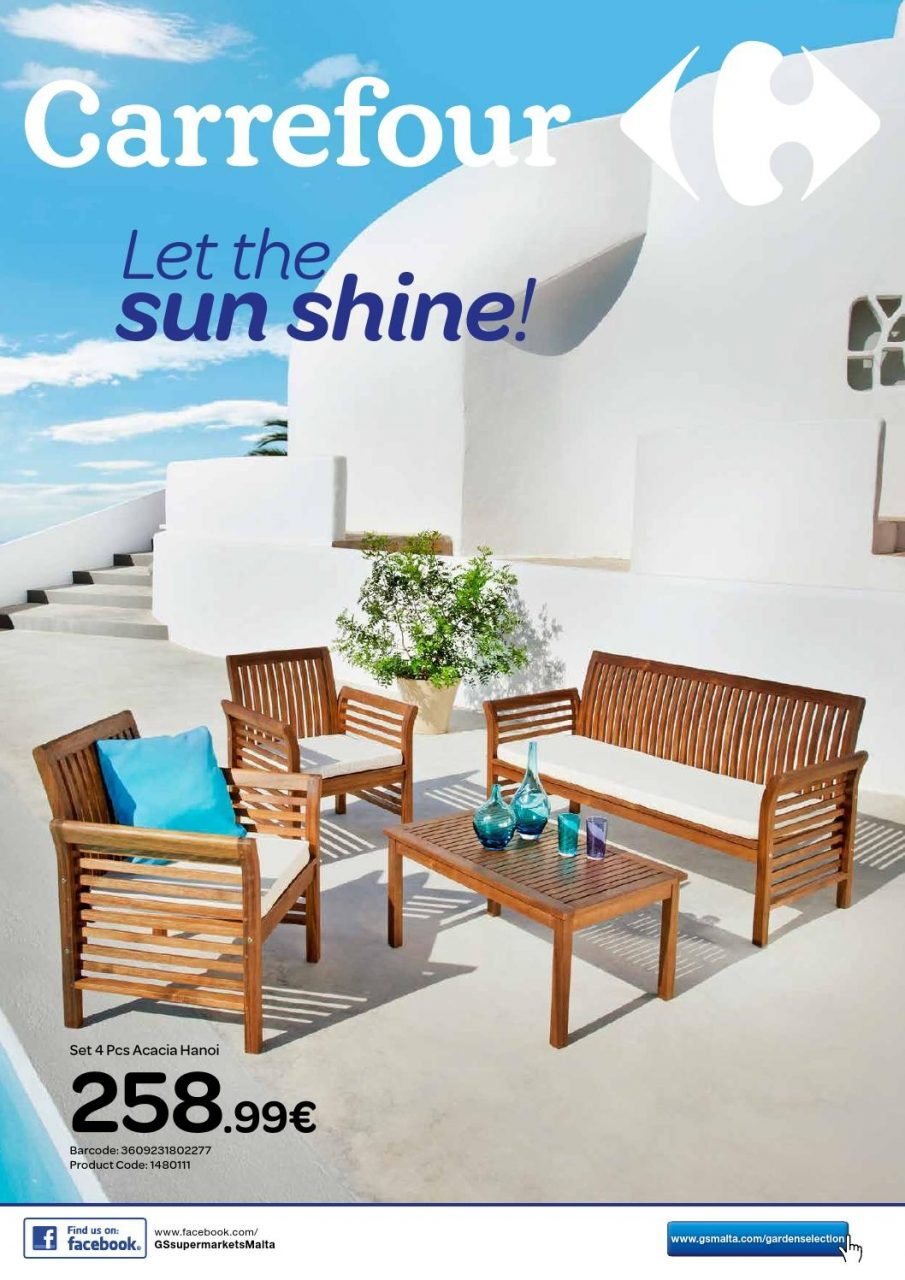 Carrefour Garden Furniture Catalogue May 2015 The Concept