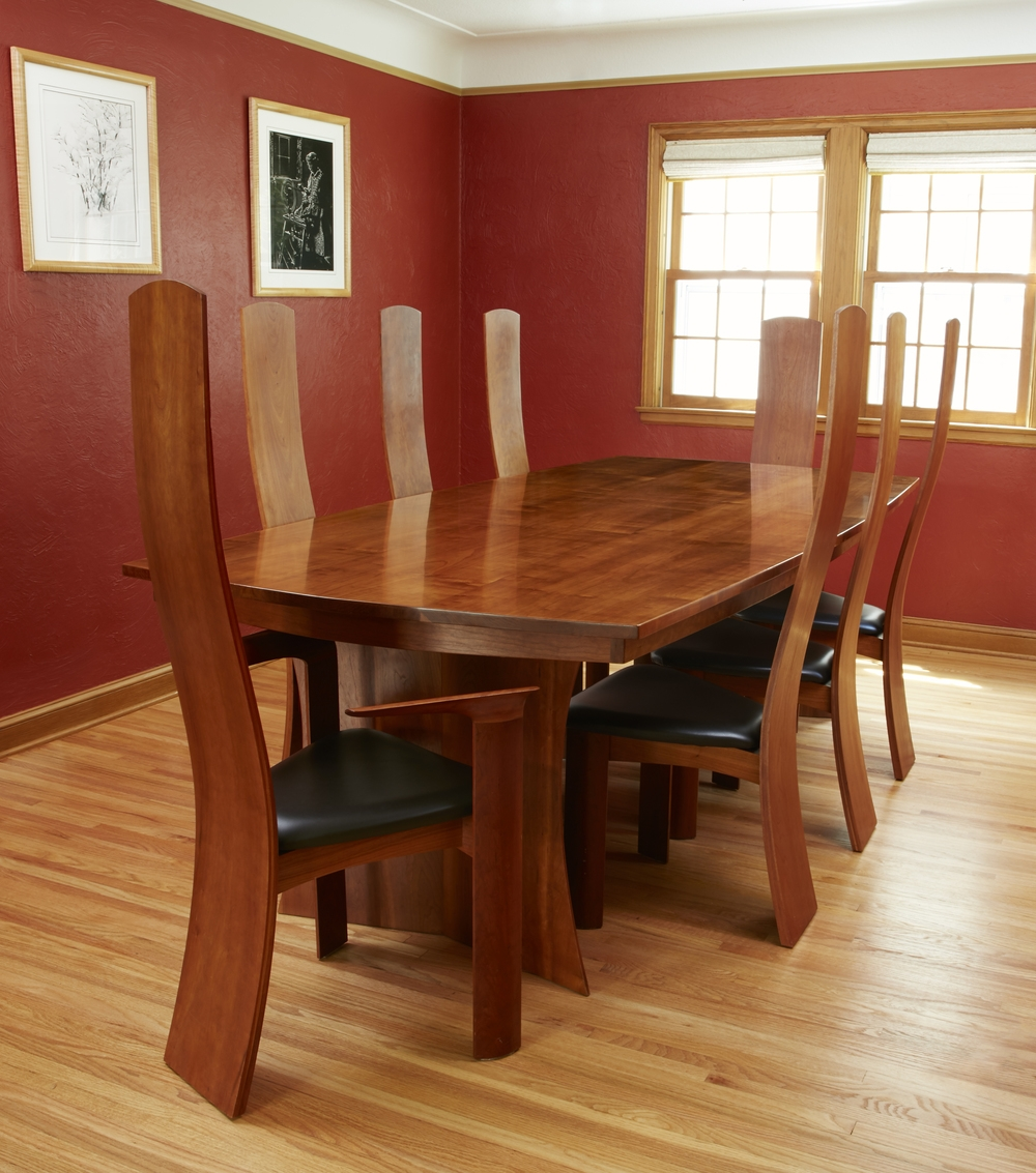 Cherry Dining Room Set Woodzest