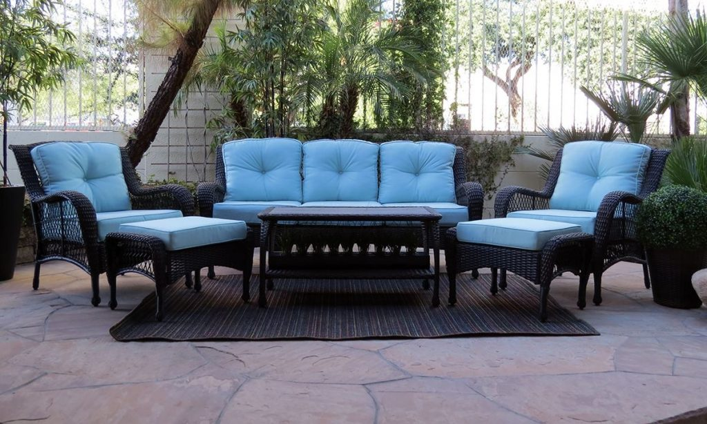 Chill 6 Pc Outdoor Living Room Furniture The Dump Luxe Furniture