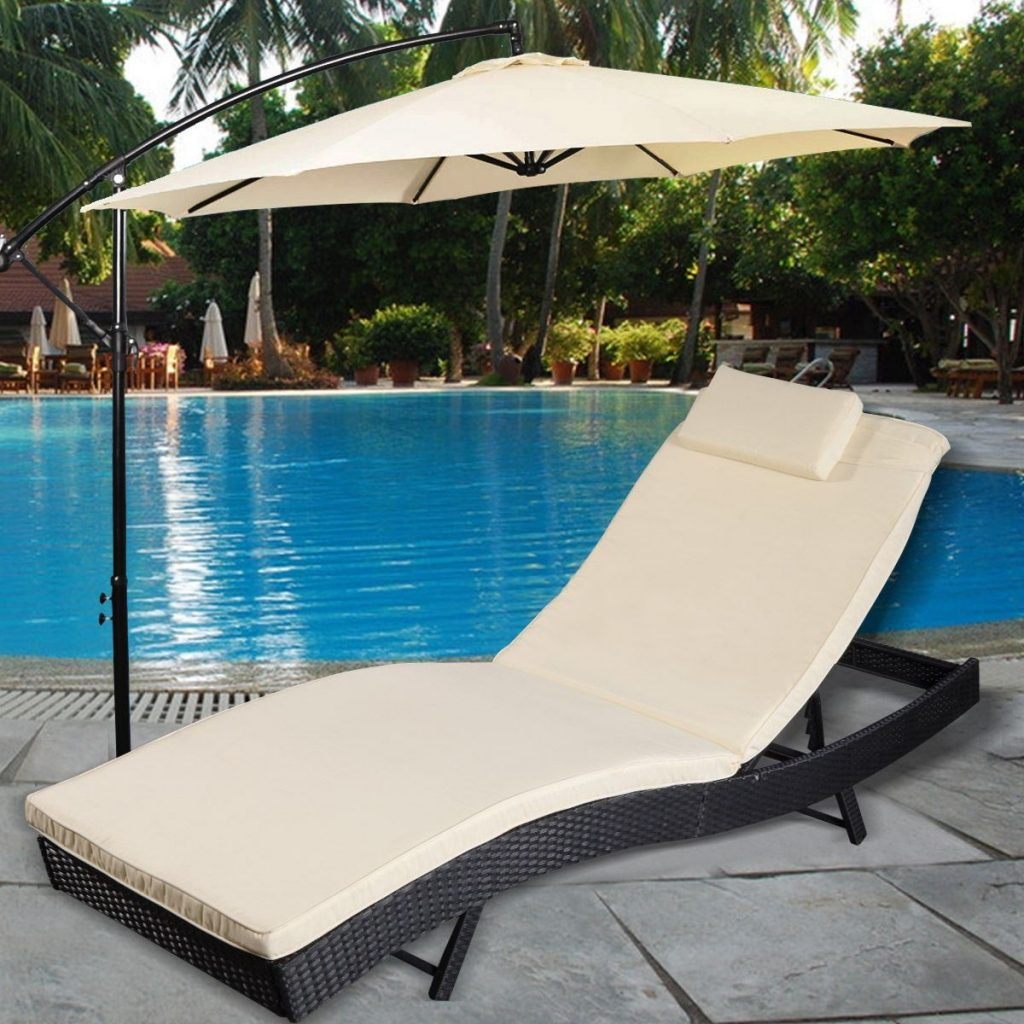 Convenience Boutiqueoutdoor Pool Chaise Lounge Chair Patio
