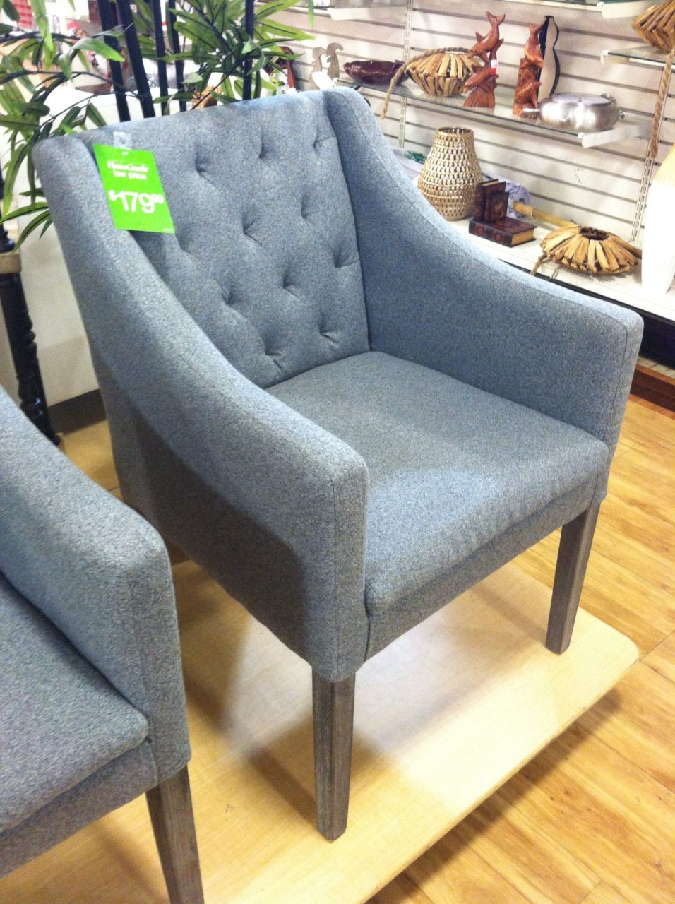 Dining Chairs Upholstered Gray Homegoods Dining Room