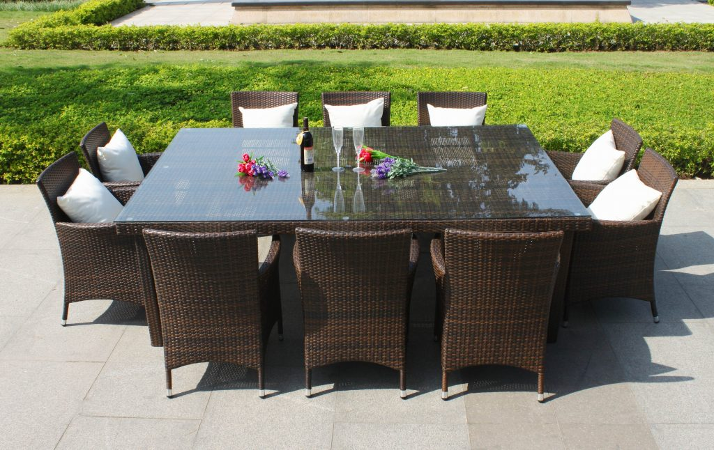 Dining Room Chair Exterior Narrow Patio Table Fresh 8 Outdoor Set