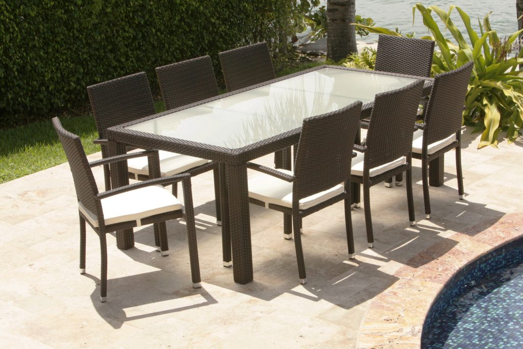 Dining Room Garden Furniture Dining Sets Round Garden Dining Table