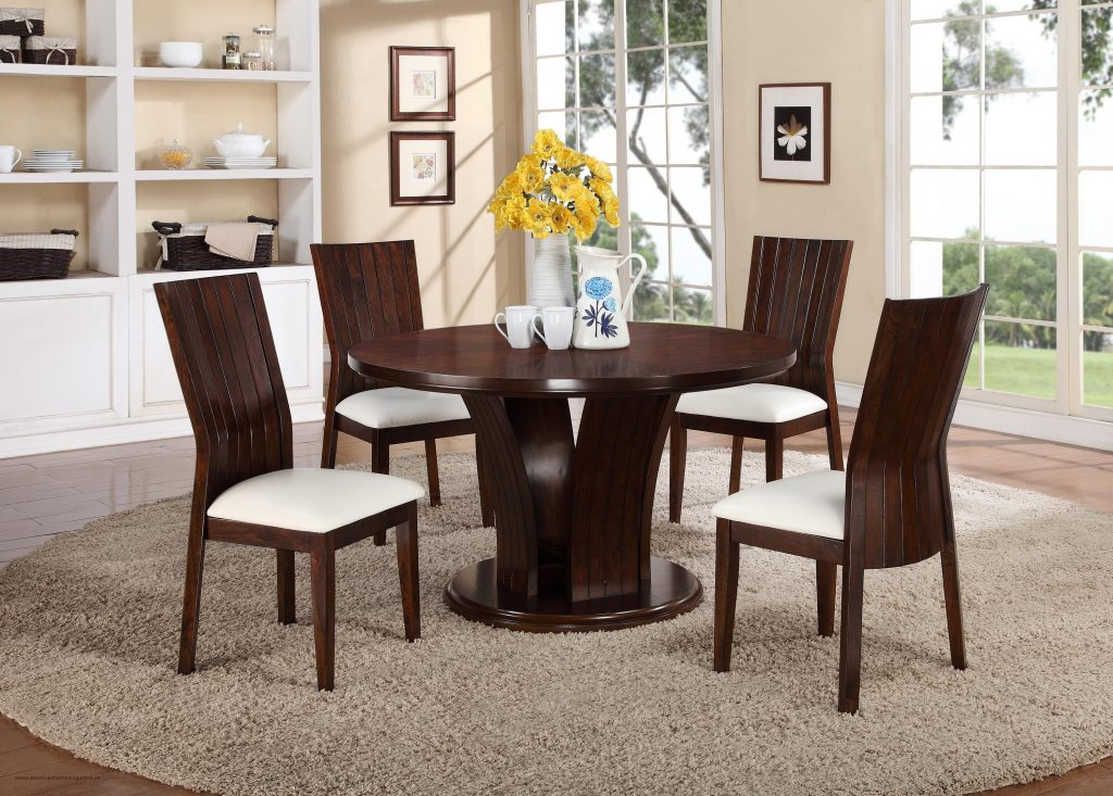 Download 4 Dining Room Chairs Ebay In Antique Dining Table And