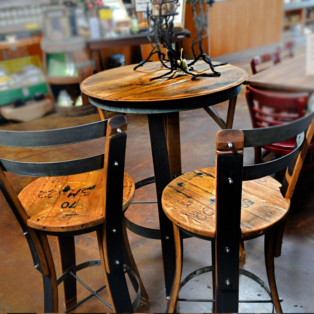 Effigy Of High Top Table Sets Wine Barrel Ideas In 2018