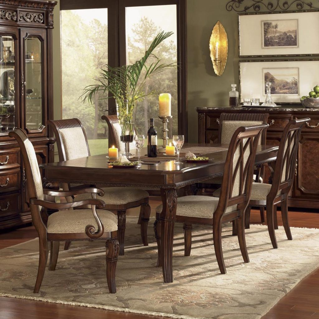Flexsteel Wynwood Collection Granada Dining Room Set With