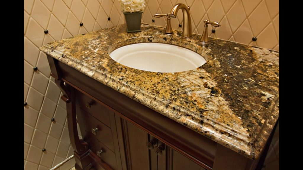 Granite Bathroom Vanity Countertops Youtube