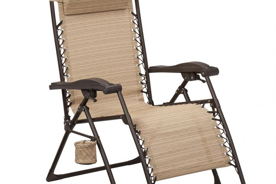 Hampton Bay Mix And Match Zero Gravity Sling Outdoor Chaise Lounge