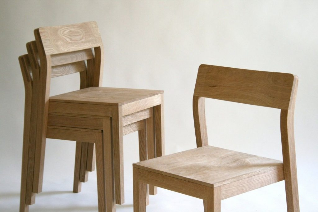 Hand Made Stackable Wood Dining Chair Kapel Designs Custommade