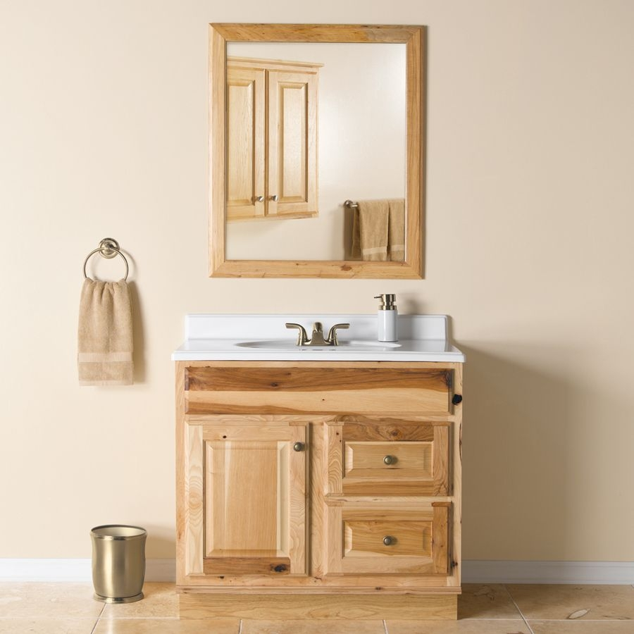 Hickory Bathroom Vanity 36 In X 21 In 209 At Lowes House 2