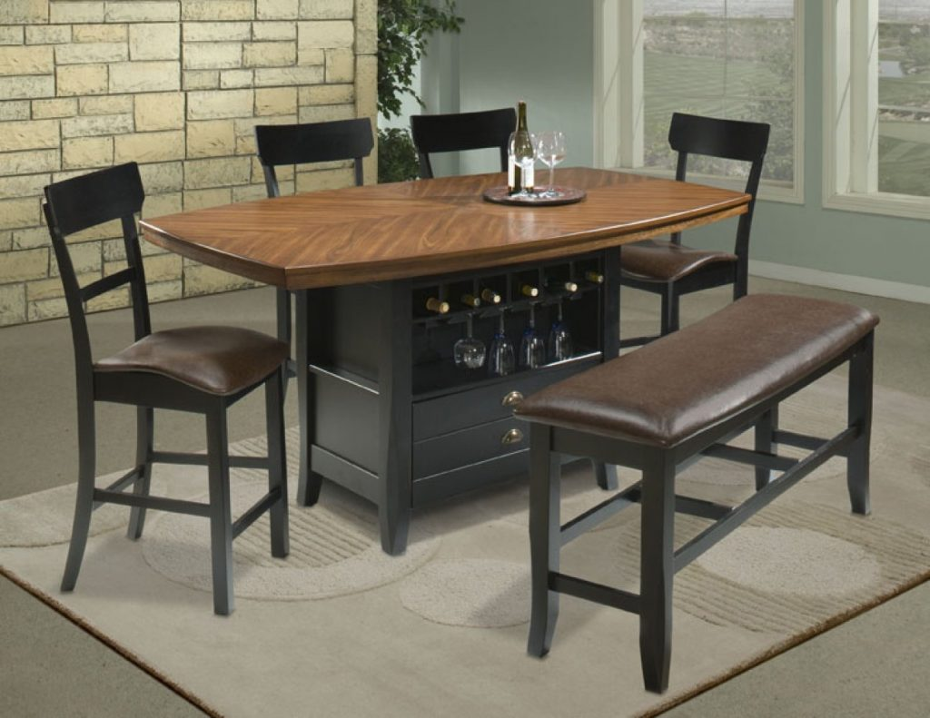 High Top Table Sets To Create An Entertaining Dining Space Homesfeed