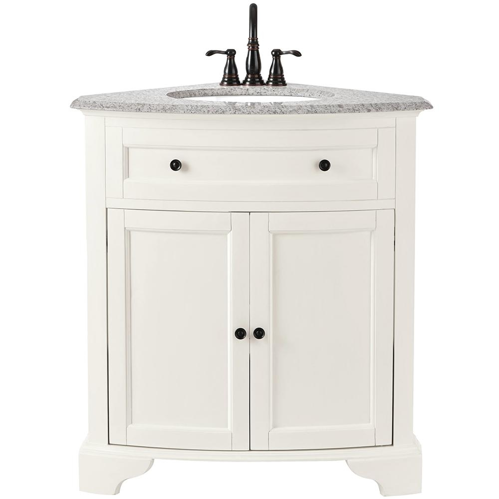 Home Decorators Collection Hamilton 31 In W X 23 In D Corner Bath