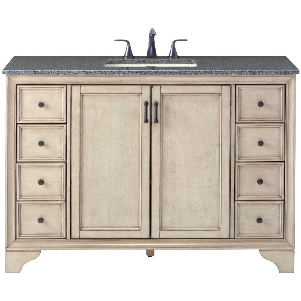 Home Decorators Collection Hazelton 49 In W X 22 In D Bath Vanity