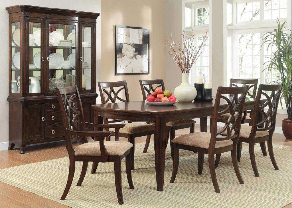 Homelegance Keegan Dining Set Cherry D2546 96