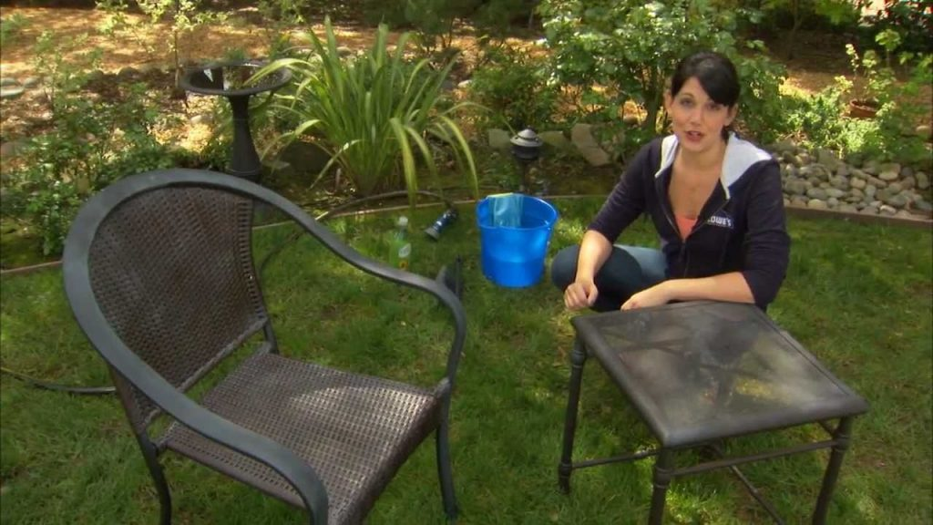 How To Clean Patio Furniture Decks Grills And Outdoor Rugs Youtube