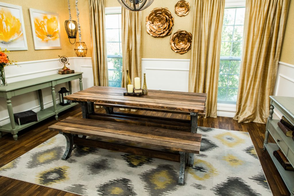 How To Home Family Diy Dining Picnic Tables Hallmark Channel