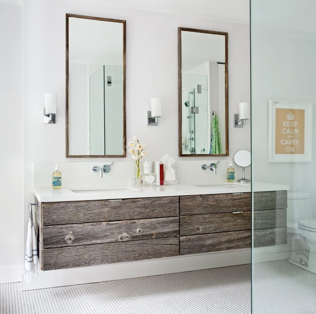 Jennifer Worts Design Toronto Like The Tall Dual Mirrors And The