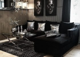 Living Room Ideas Black