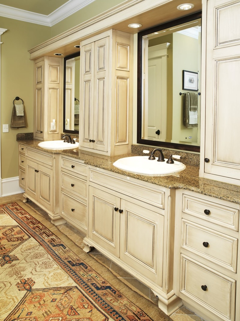 Master Bathroom Vanity Leslie Newpher Interiors High End
