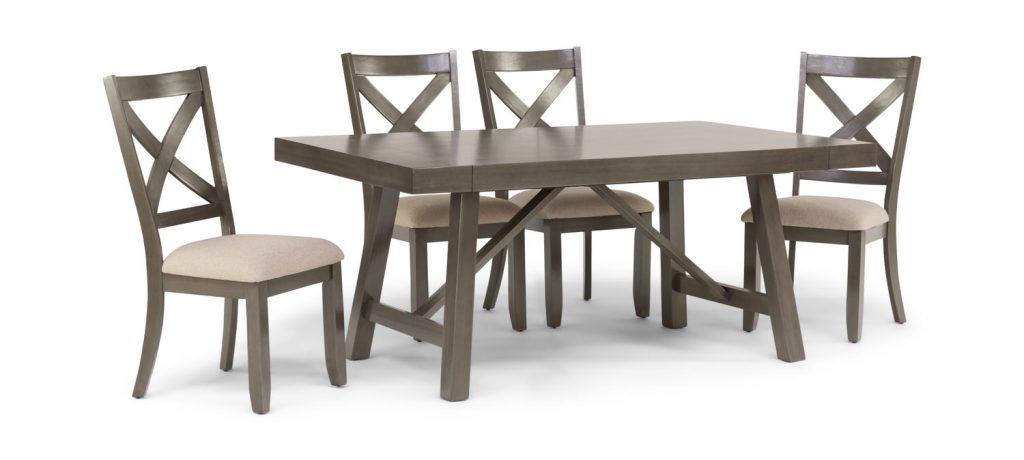 Omaha Dining Table With 4 Chairs Hom Furniture