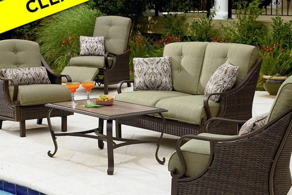 Patio Furniture Sets Outdoor Wicker Rattan Table And Chairs Cane