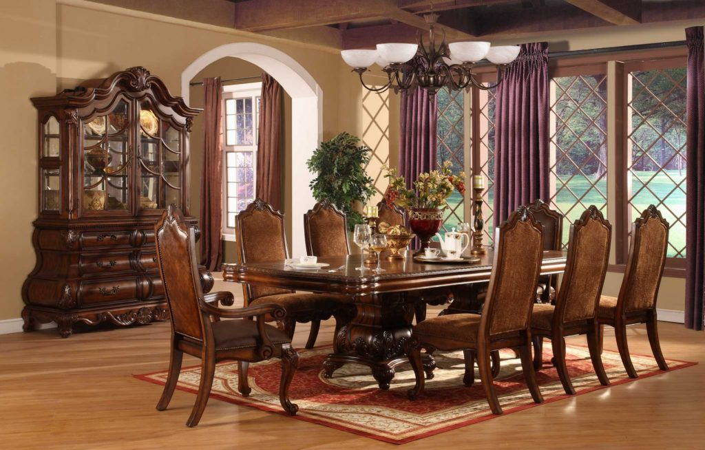 Perfect Formal Dining Room Sets For 8 Homesfeed Home Decorating