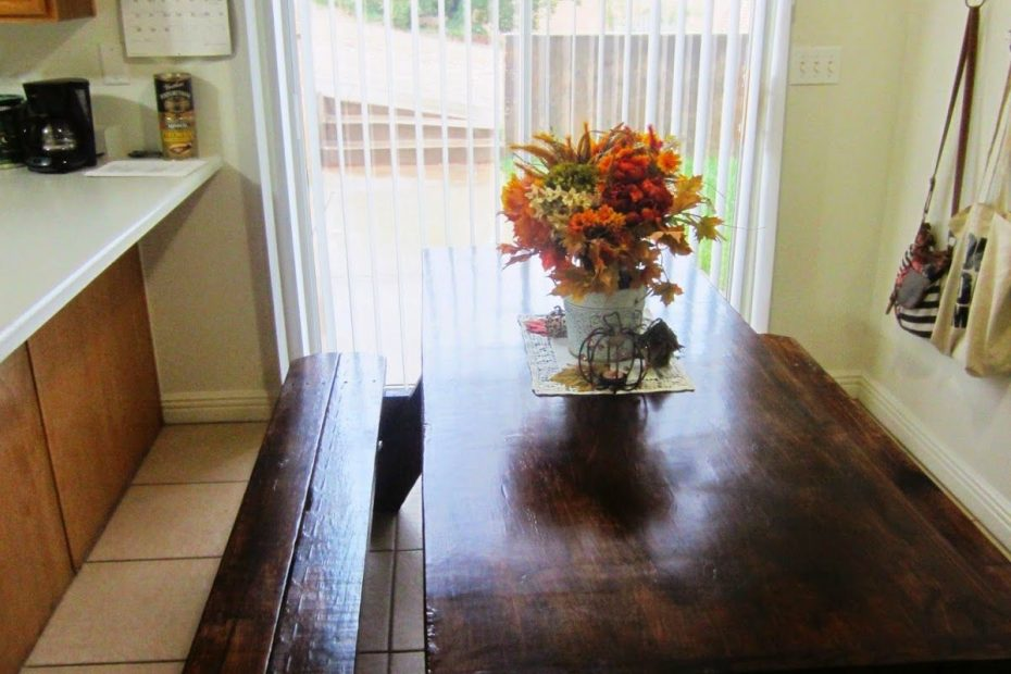 Picnic Table As A Kitchendining Room Table Home In 2018