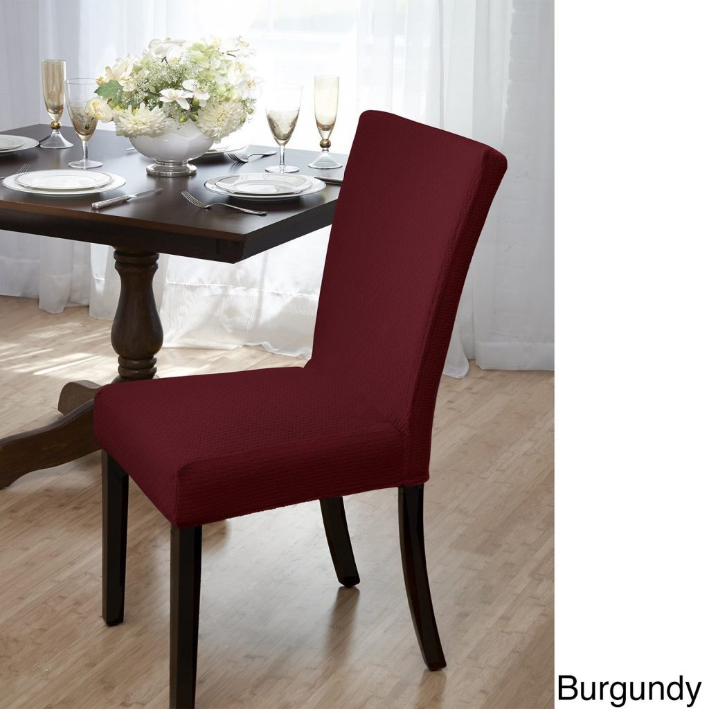 Shop Sanctuary Subway Knit Jacquard Dining Room Chair Cover Free